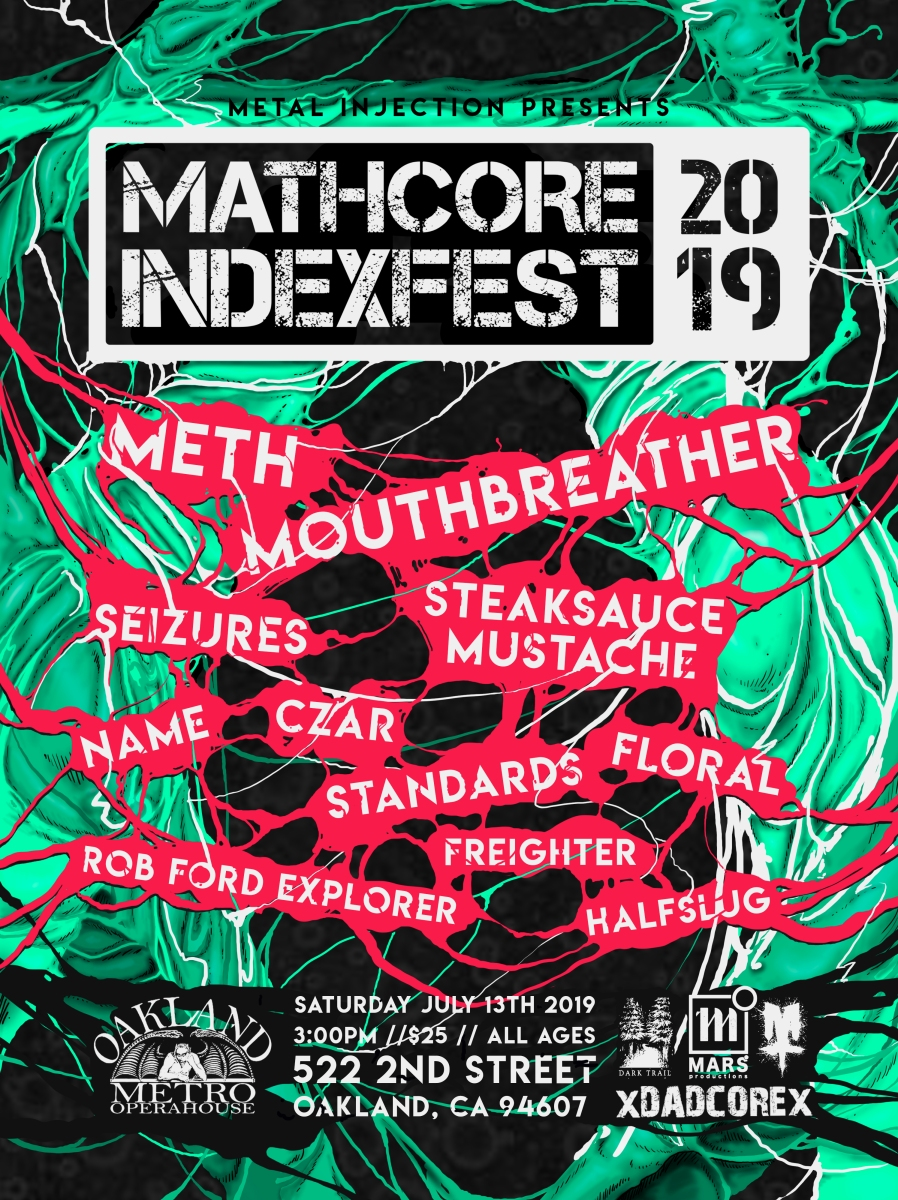 Metal Injection Presents: Mathcore Index Fest 2019